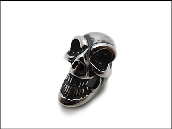 【B.W.L. ビルウォールレザー】チャーム/C324 Skull Bead
