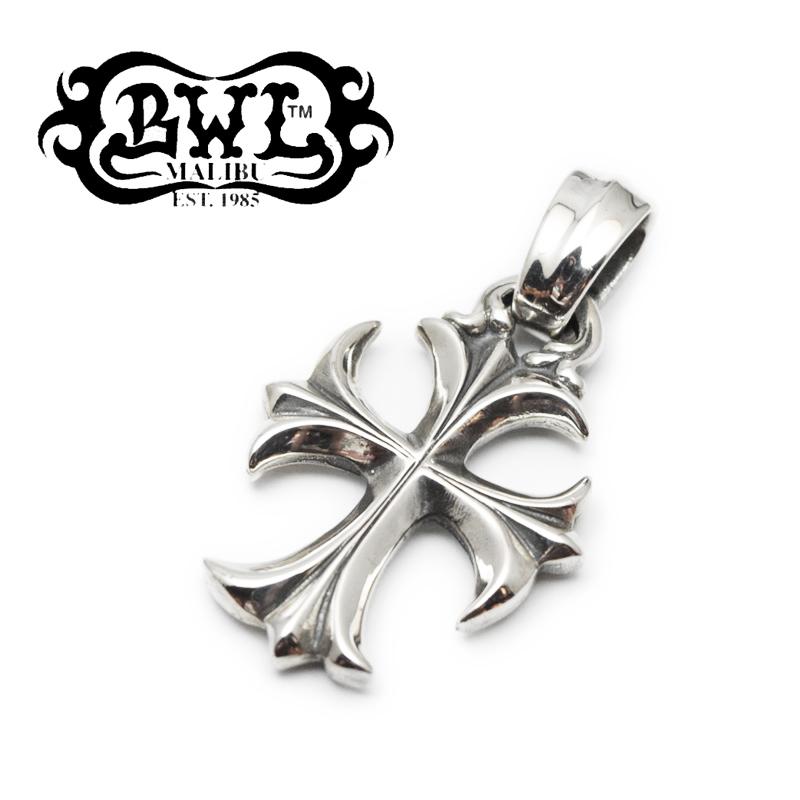 【Bill Wall Leather/ビルウォールレザー】ペンダント/PN875:Crucifix Pendant