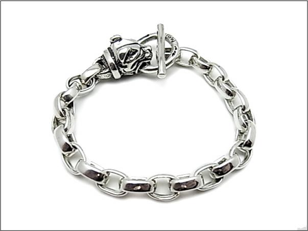 トップ 【B.W.L. ビルウォールレザー【B.W.L.】ブレスレット/B528 Small Chain w/Dog Chain Head (#asmade) Bracelet (#asmade), 京の源氏蔵:c84fd20c --- mail.zemlyanichka-amga.ru
