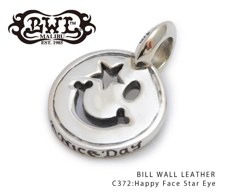 【Bill Wall Leather/ビルウォールレザー】チャーム/C372:Happy Face Star Eye★REALDEAL
