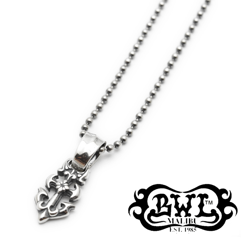 【Bill Wall Leather/ビルウォールレザー】チャーム/CB106:Anchor Charm with Ball Chain★REAL DEAL