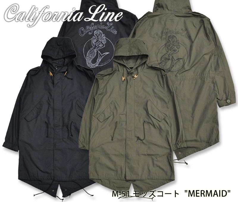 【CALIFORNIA LINE/カリフォルニアライン】ジャケット/M-51 モッズコート
