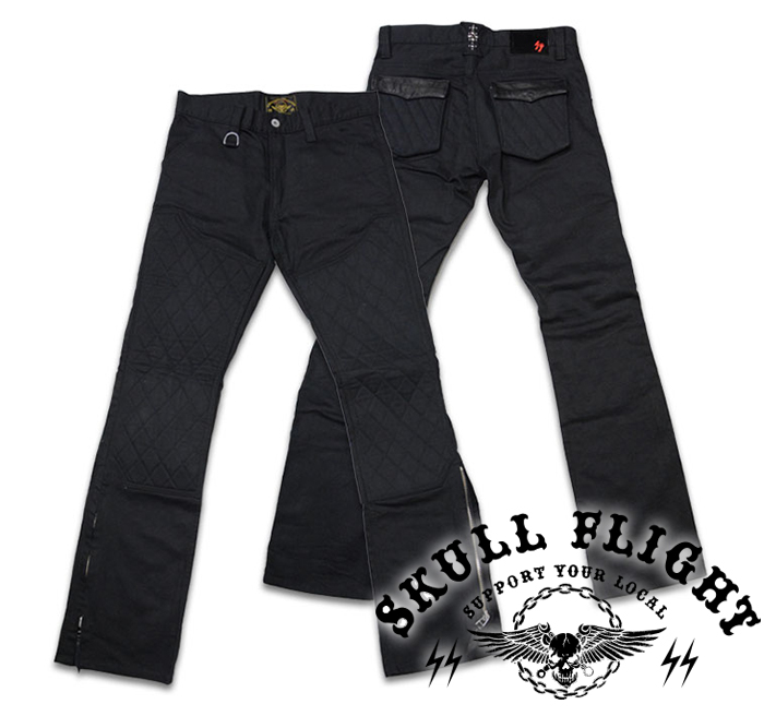 【SKULL FLIGHT スカルフライト】ボトム/SS PANTS type5 STRETCH