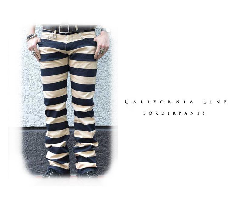 【CALIFORNIA LINE/カリフォルニアライン】パンツ/BORDER PANTS ★REALDEAL