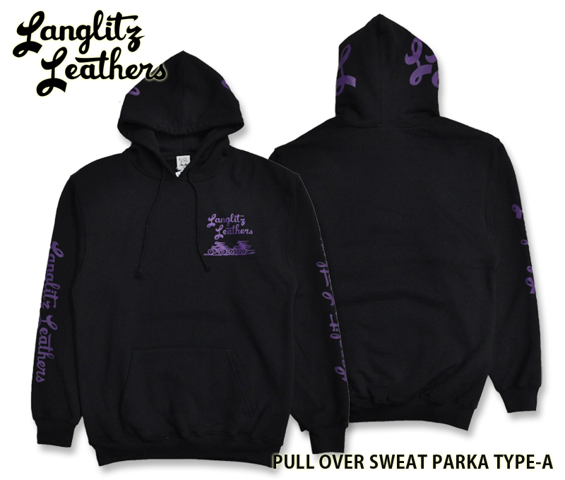 【Langlitz Leathers /ラングリッツレザーズ】スウェットパーカー/PULL OVER SWEAT PARKA TYPE-A ★REAL DEAL