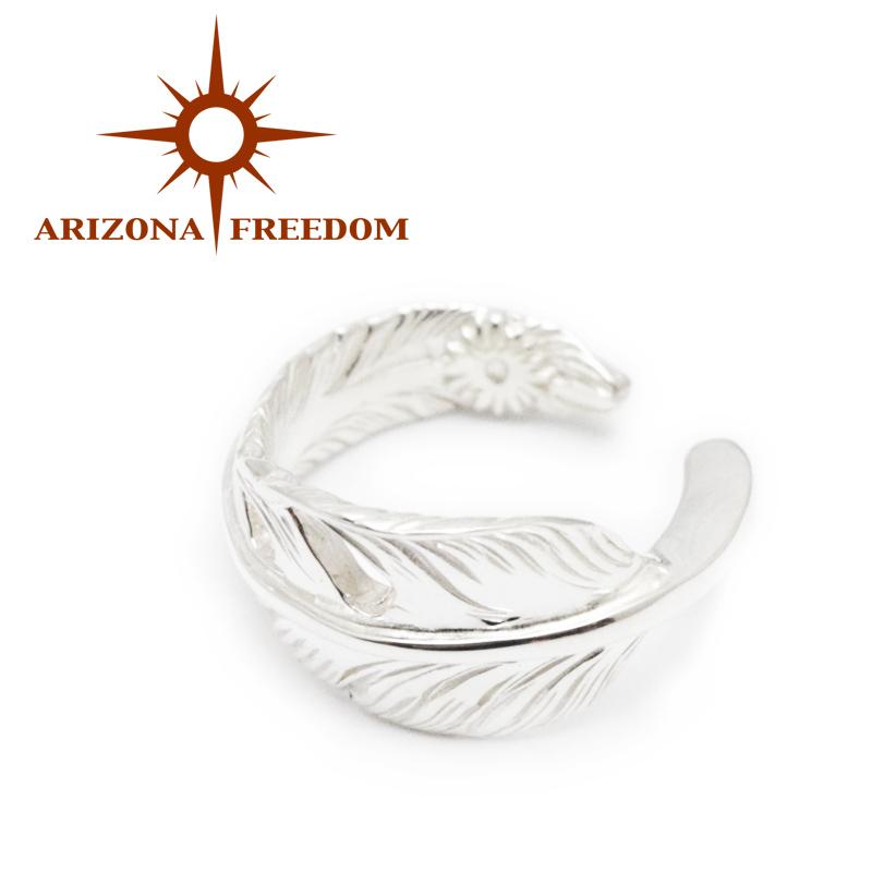 【ARIZONA FREEDOM/アリゾナフリーダム】リングNo.27/50mmシルバー風切りフェザーリング!REAL DEAL