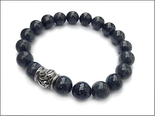 【LONE ONES ロンワンズ】ブレスレットMFSB-0002-SAHawk Bead Sapphire 10mm