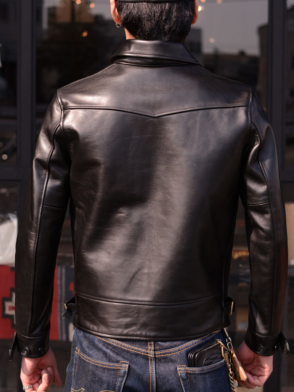 【Y'2 LEATHER/ワイツーレザー】ジャケット/ANILINE HORSE COSSAK JACKET LB-143★REAL DEAL