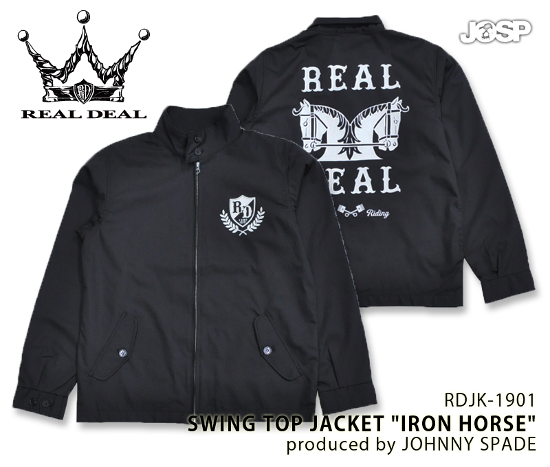 【REALDEAL/リアルディール】RDJK-1901/SWING TOP JACKET