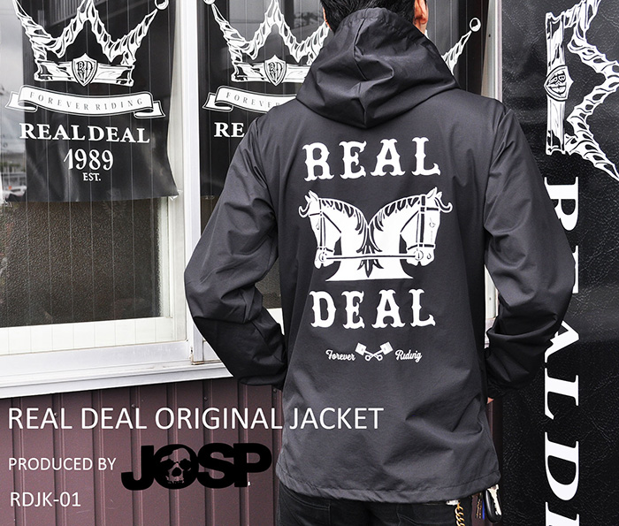 【REALDEAL/リアルディール】オリジナルジャケット RDJK-01 produced by JOHNNY SPADE★REAL DEAL