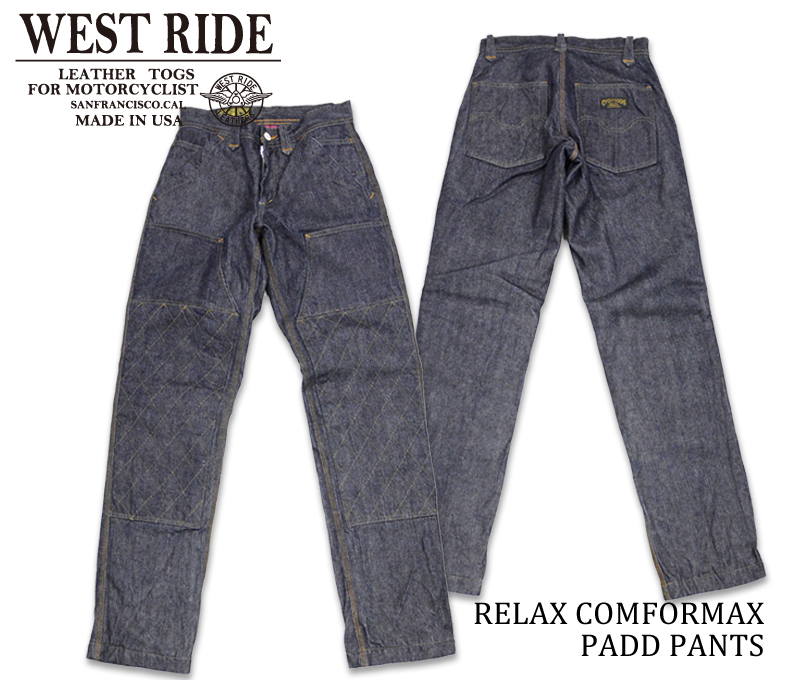 【WESTRIDE/ウエストライド】防寒パンツ/RELAX COMFORMAX PADD PANTS 2018 BLUE★REAL DEAL