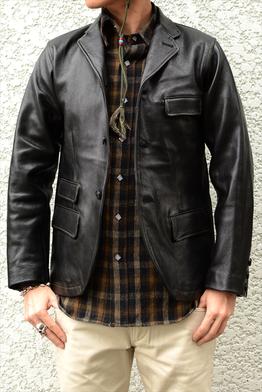 【WEST RIDE/ウエストライド】レザージャケット/THICK RIDE TAILORED JACKET★REAL DEAL