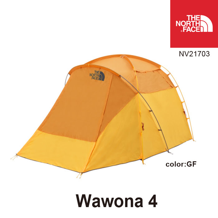 ノースフェイス テント NV21703 Wawona 4 ワオナ 4人用 カラー:GF THE NORTH FACE キャンプ アウトドア [11118ss][04]