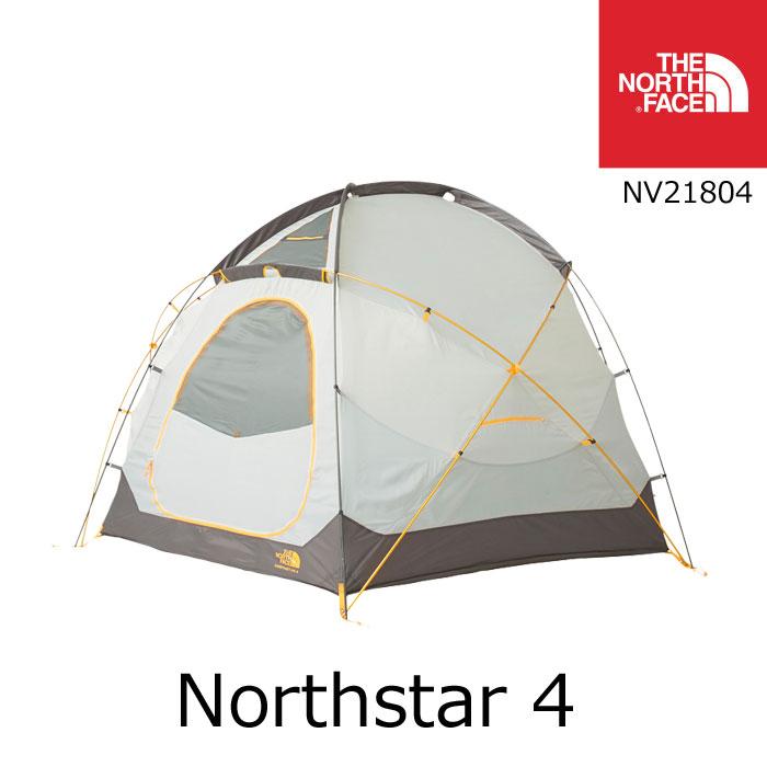 ノースフェイス テント ノーススター4 Northstar 4 NV21804 4人用 カラー:GO THE NORTH FACE キャンプ アウトドア [11118ss][04]