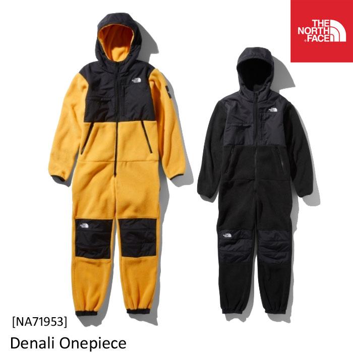 男性用 オールインワン 部屋着/アウトドア 高い保温力を持つフリース素材 2019年秋冬 正規品  ノースフェイス メンズ フリース デナリ ワンピース NA71953 Denali Onepiece The North Face [11119fw]