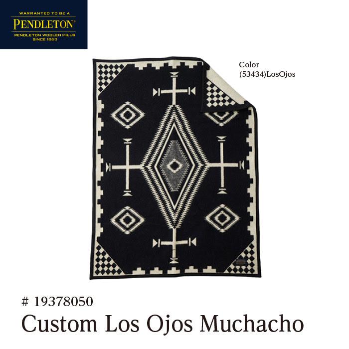 ペンドルトン ブランケット PENDLETON Custom LosOjos Muchacho Blanket カスタムムチャチョブランケット #19378050 [61004]