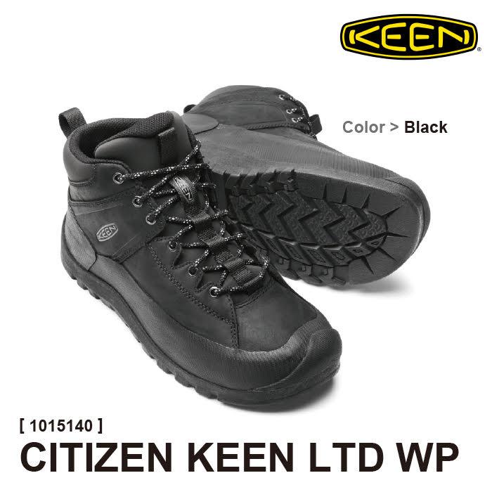 キーン メンズ 防水ブーツ CITIZEN KEEN LTD WP シティズン キーン リミテッド ウォータープルーフ #1015140 KEEN [536fp][536667]