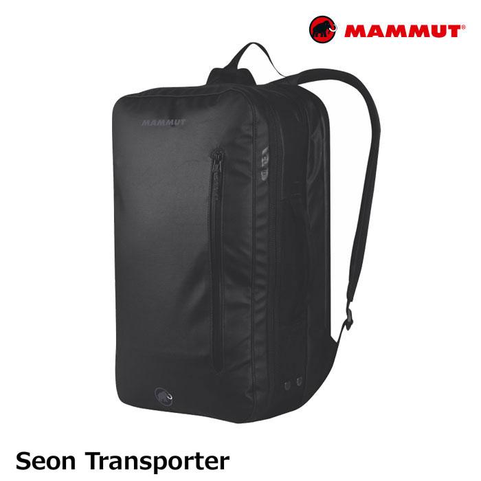 マムート カバン ビジネスバッグ Seon Transporter セオントランスポーター 26L カラー:ブラック #251003910 MAMMUT [55519ss]