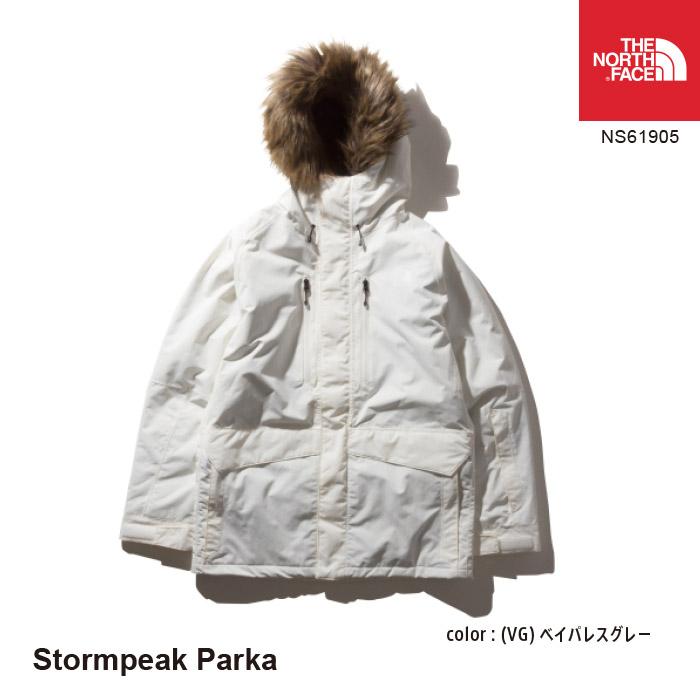 スノーウェア [111outlet] Stormpeak メンズ The Face Parka ストームピークジャケット ノースフェイス NS61905 North