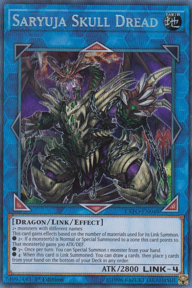 【unlimited】遊戯王 EXFO-EN048 鎖龍蛇?スカルデット Saryuja Skull Dread(英語版 unlimited シークレットレア)