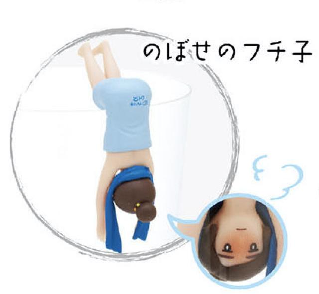 人気上昇中 あすなろ舎 のぼせのフチ子 コップのフチ子 フィギュアマスコット 2 公式ショップ 温泉バージョン