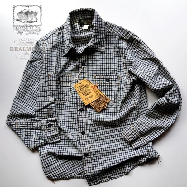 お見舞い フリーホイーラーズ ニールワークシャツ1920~1930s STYLE 一部予約 LONG SLEEVE SHIRTS No.2013001
