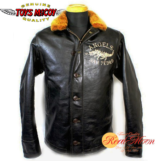 ☆リアルムーン限定別注モデル☆TOYSMcCOY×REALMOON COLLABO N-1 LEATHER JACKET ANGELS MC SAN PEDRONo.TMJ1243【SEMI CUSTOM】