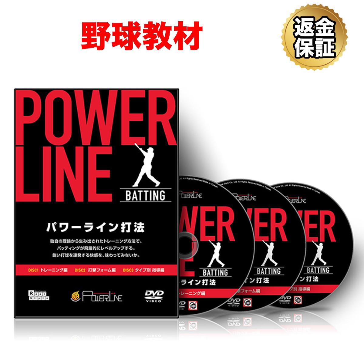 【野球】POWER LINE打法 ~「タメ」と「カベ」を作り、飛距離をアップさせる方法~