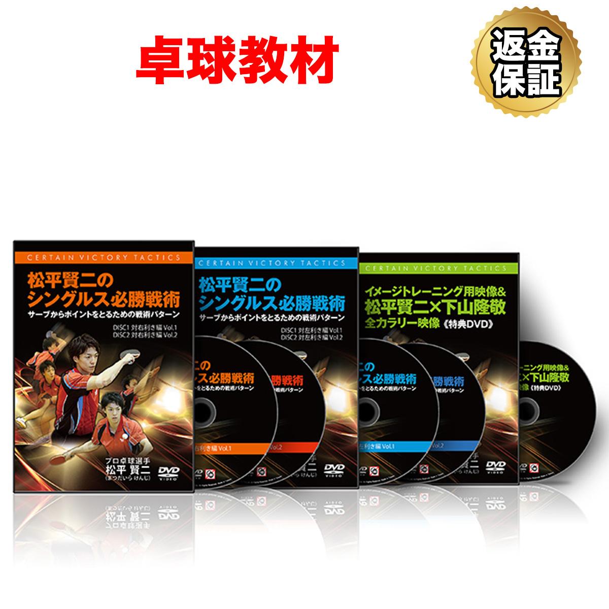 【卓球】松平賢二のシングルス必勝戦術