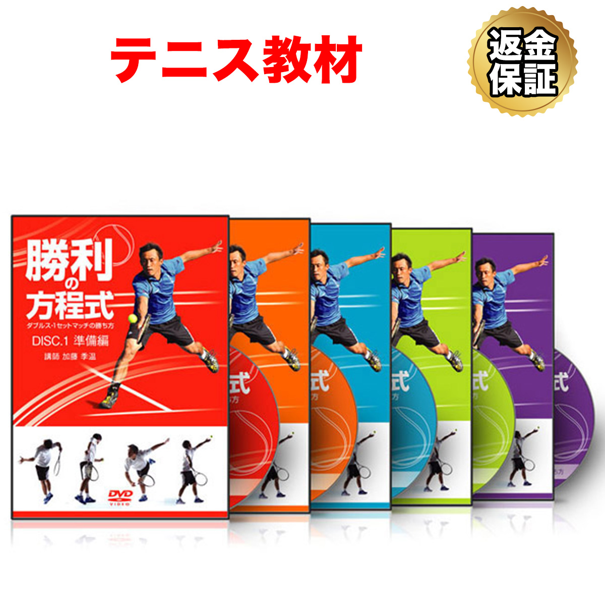 【テニス】勝利の方程式~ダブルス・1セットマッチの勝ち方~