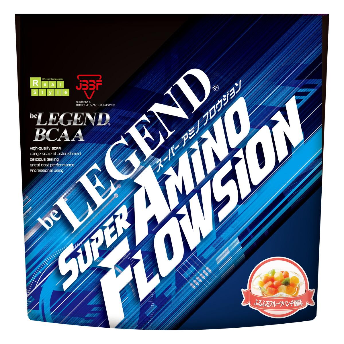 格安 苦みを抑えた美味しいBCAAドリンクが新登場 ビーレジェンド BCAA スーパー アミノフロウジョン ふるふるフルーツパンチ風味 420g スプーン付き be LEGEND シトルリン アミノ酸 FLOWSION AMINO 期間限定お試し価格 女性 オススメ 男性 SUPER グルタミン
