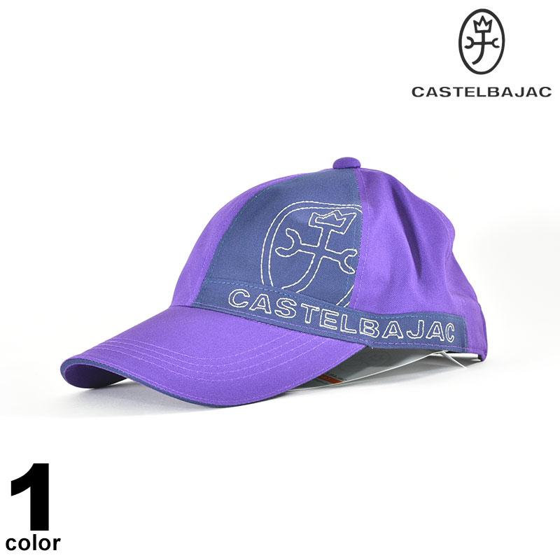 カステルバジャック CASTELBAJAC 綿 帽子 2019秋冬 キャップ 日本製 刺繍 ロゴ 98-0104-56-15