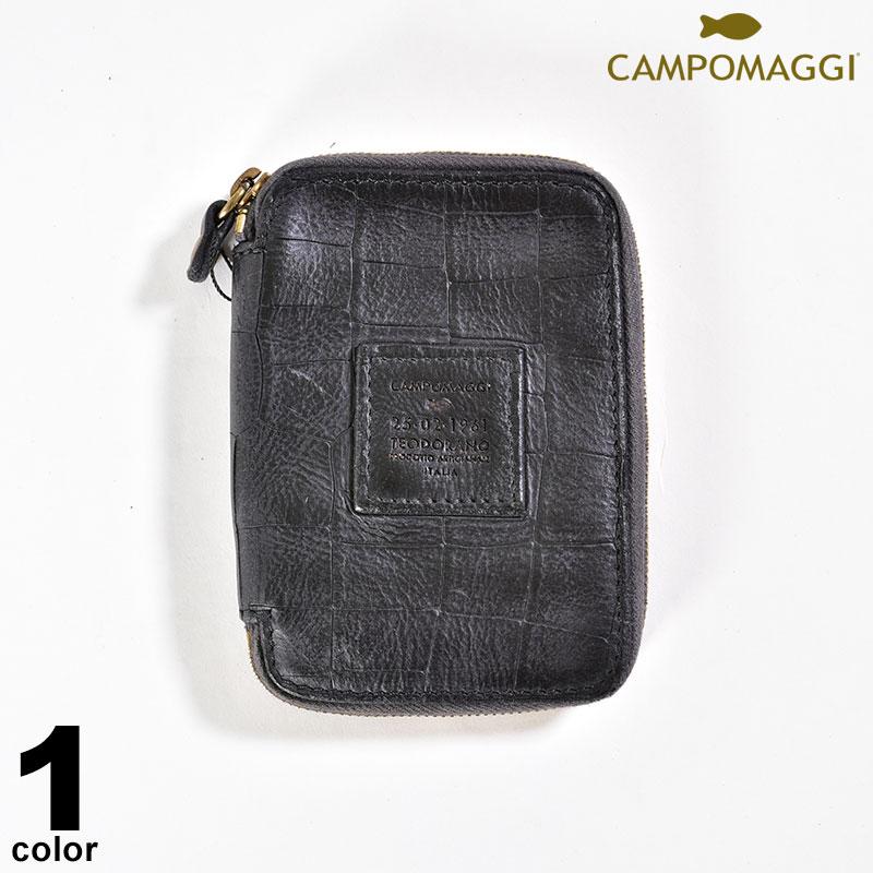 カンポマッジ CAMPOMAGGI 牛革 財布 秋冬 ロゴ a0-0201-38-05