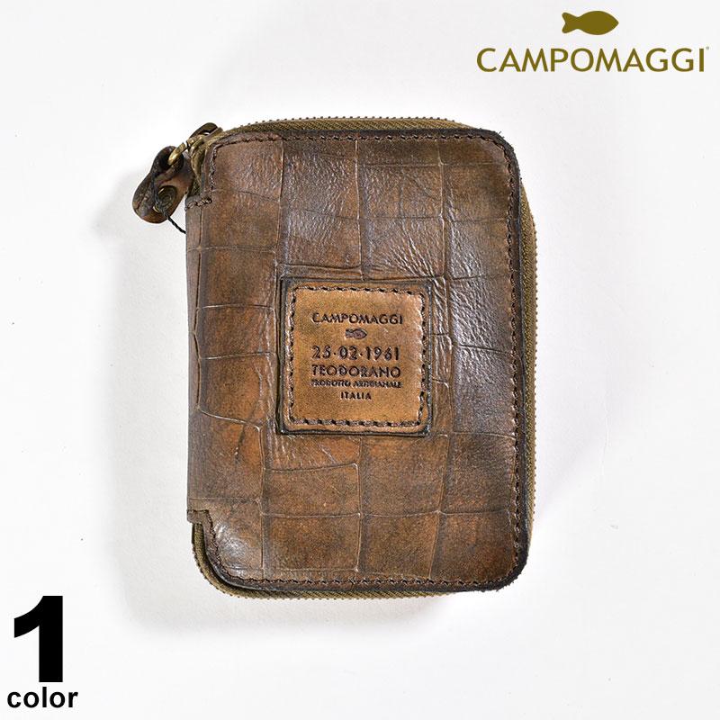 カンポマッジ CAMPOMAGGI 牛革 財布 秋冬 ロゴ a0-0201-38-87