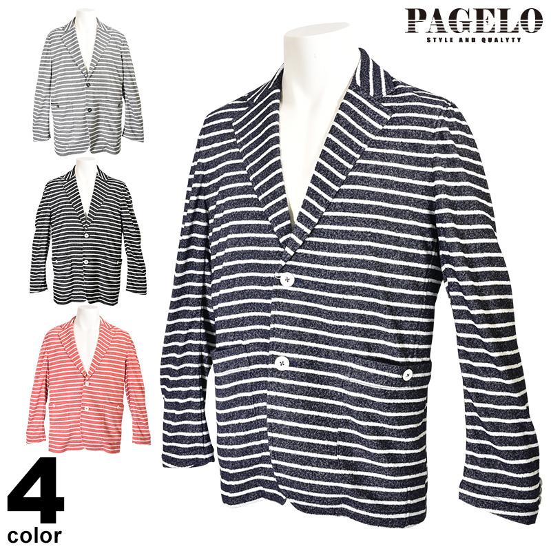 パジェロ PAGELO 長袖 ジャケット メンズ 2020春夏 タオル地 ロゴ 01-4106-07c