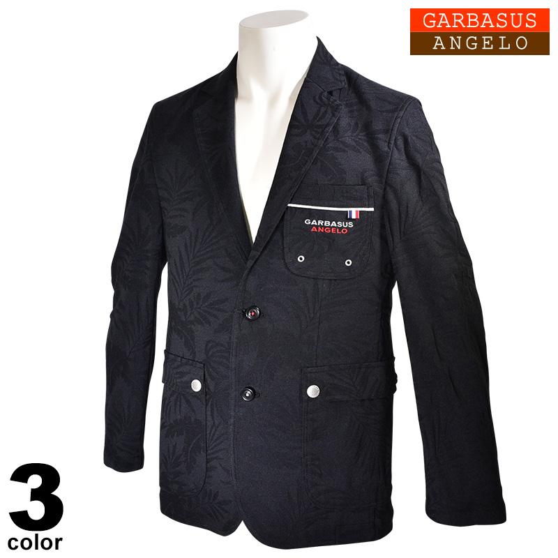ANGELO GARBASUS アンジェロガルバス テーラードジャケット メンズ 2020春夏 ジャガード柄 01-4101-03