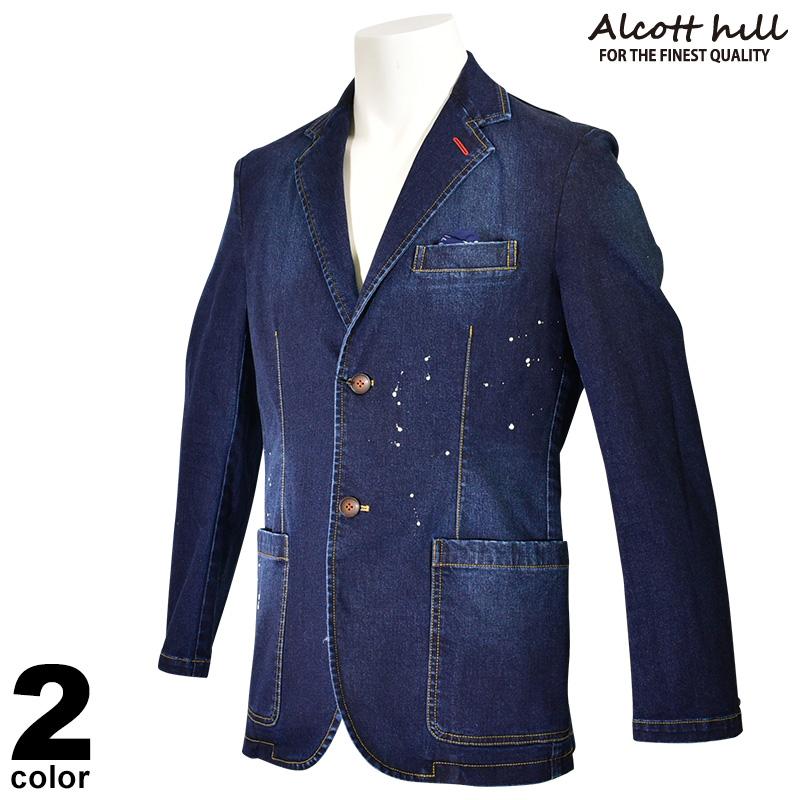 ALCOTT HILL アルコットヒル 長袖 デニム ジャケット メンズ 2020春夏 01-4101-10