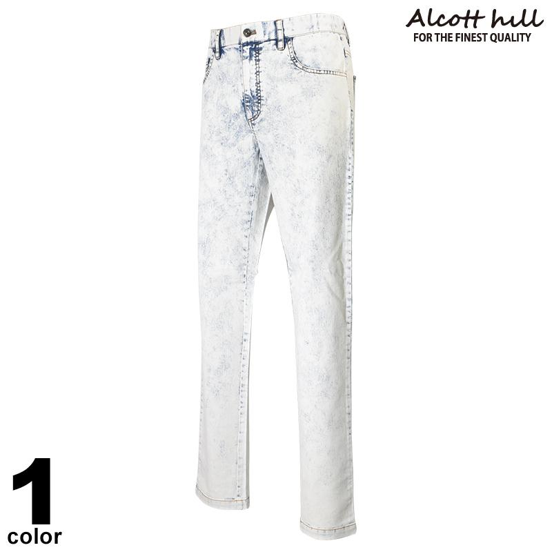 ALCOTT HILL アルコットヒル デニムパンツ メンズ 2020春夏 ロゴ 01-5308-10