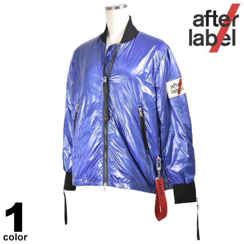 After label アフターラベル ダウン レディース 2020春夏 リュック型 MA-1 01-3183-42