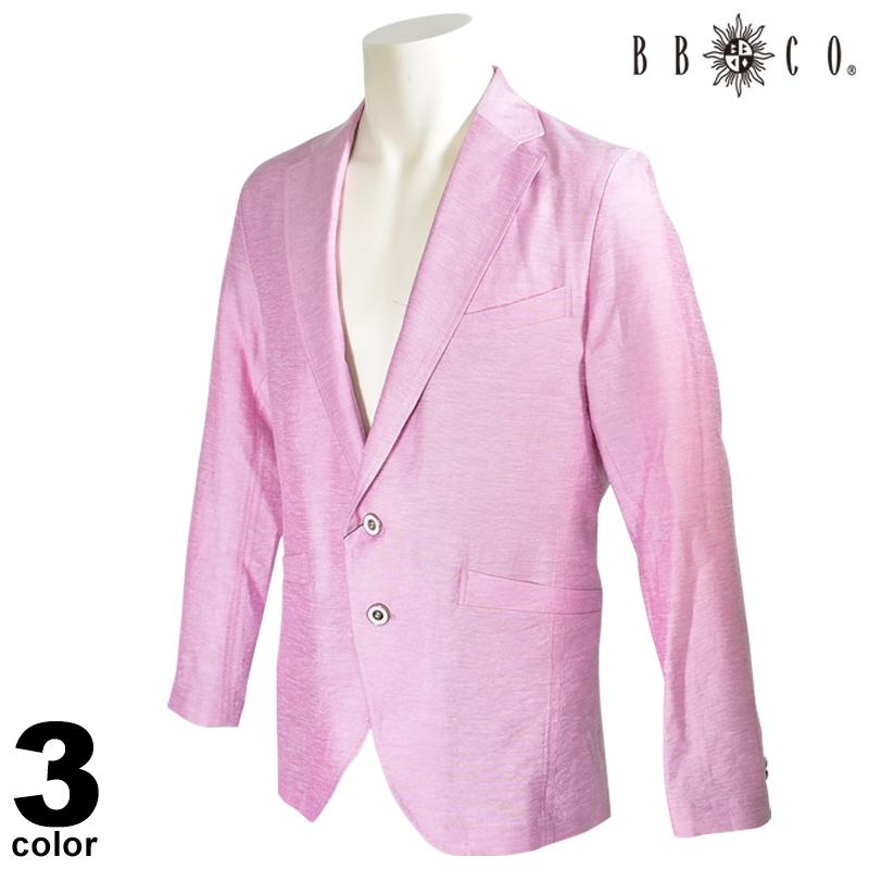 BBCO ビビコ 長袖 テーラードジャケット メンズ 2020春夏 麻 01-4156-12