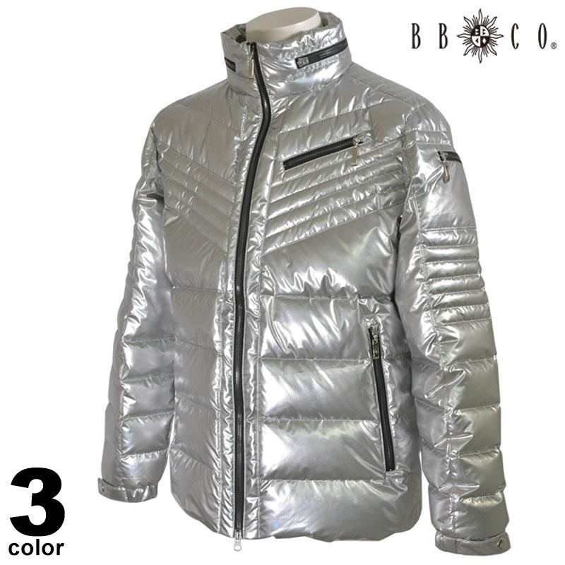 《先行予約受付開始》BBCO ビビコ ダウンジャケット メンズ 2020秋冬 光沢感 刺繍 ロゴ 05-3102-12
