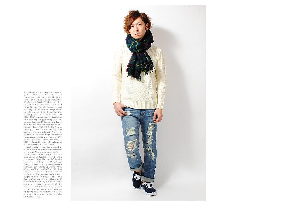 re ap the large size scarf fringe check scarf acrylic scarf tartan