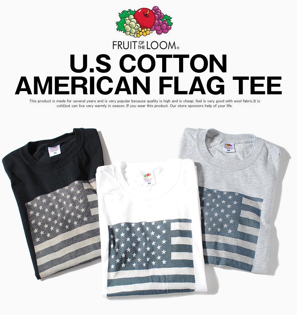 f2b58e49831 I introduce the short-sleeved print T-shirt that the Star-Spangled Banner  shows bold coordinates from American well-established apparel underwear  maker