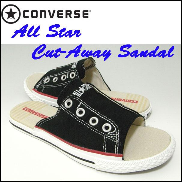 converse cutaway sandals