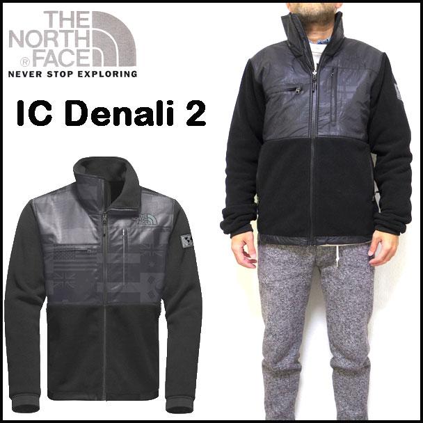 ノースフェイス フリース メンズ IC DENALI 2 JACKET XS-L 黒 18新作