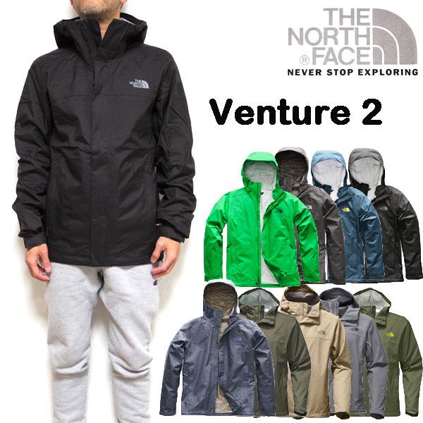 ノースフェイス THE NORTH FACE ジャケット メンズ ベンチャー VENTURE 2 JACKET ウィンドブレーカー XS S M L XL 男性用 18秋冬新色追加