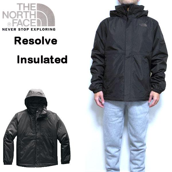 ノースフェイス メンズ ジャケット THE NORTH FACE RESOLVE INSULATED JACKET 中綿 18新作 アウター 防寒 S M L XL