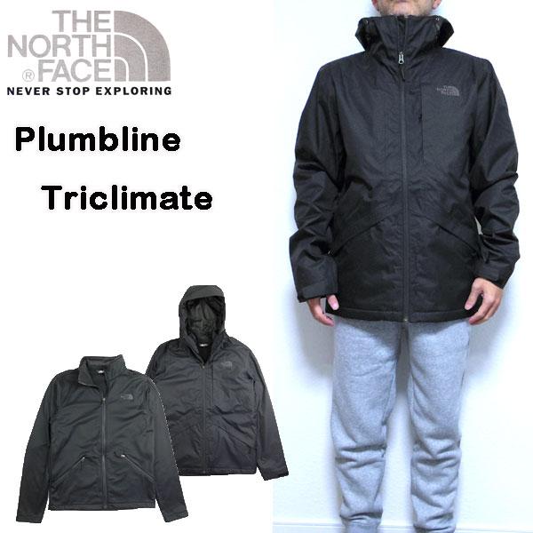 ノースフェイス THE NORTH FACE ジャケット メンズ Plumbline 3ウェイ Triclimate 18新作 アウター 防寒 S M L XL
