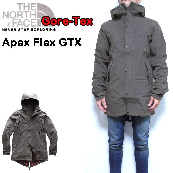 ノースフェイス ジャケット メンズ APEX FLEX GTX PARKA ゴアテックス 18秋冬 S M L XL NF0A3JPJ