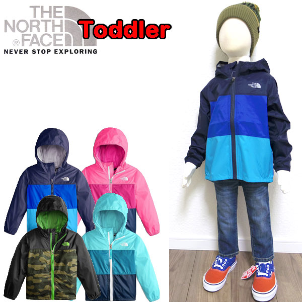 f0eda6962 Child 80 90 100 110 120cm of the North Face THE NORTH FACE jacket kids  Toddler Flurry Wind Jacket thin boy woman